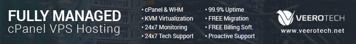 VeeroTech Managed VPS Hosting