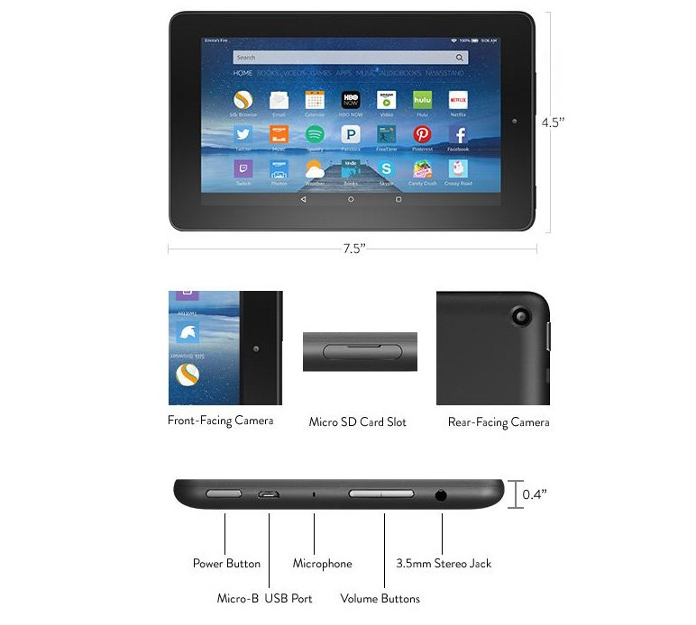 Fire-Tablet-Specifications
