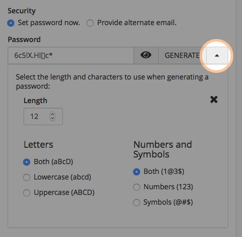 "Displaying the email address password ""recipe"""
