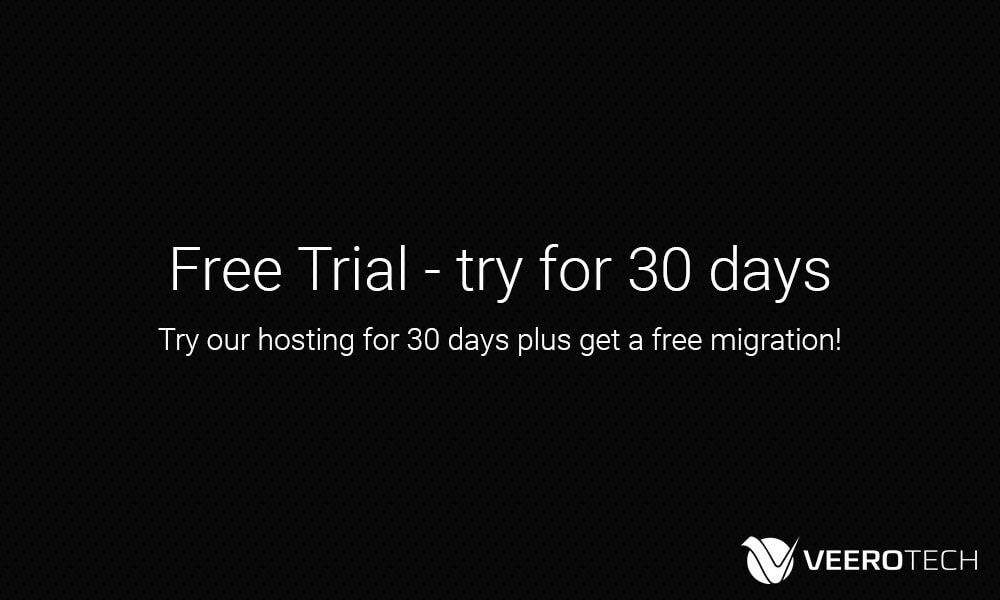web hosting trial