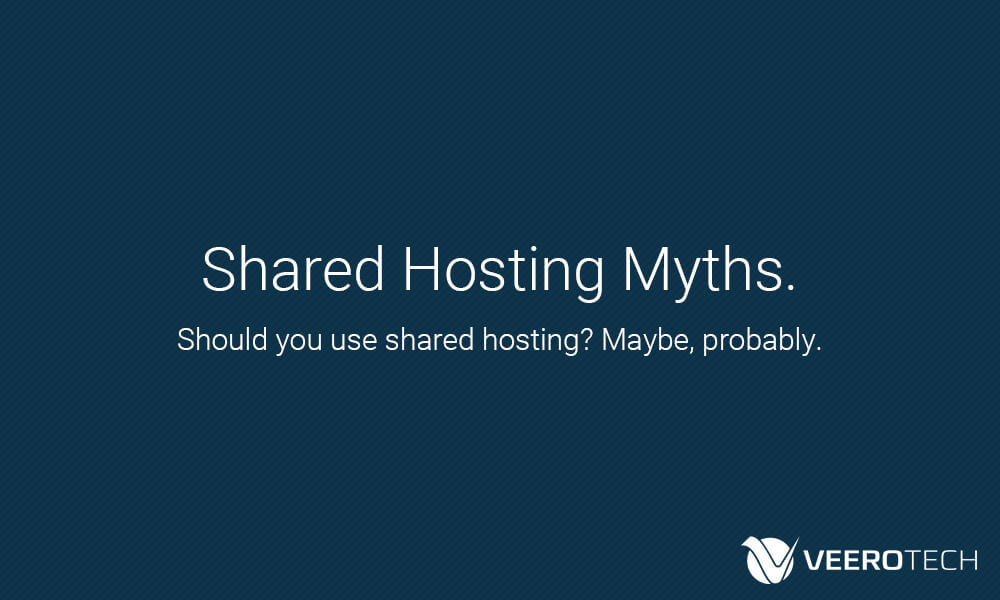 shared hosting myths