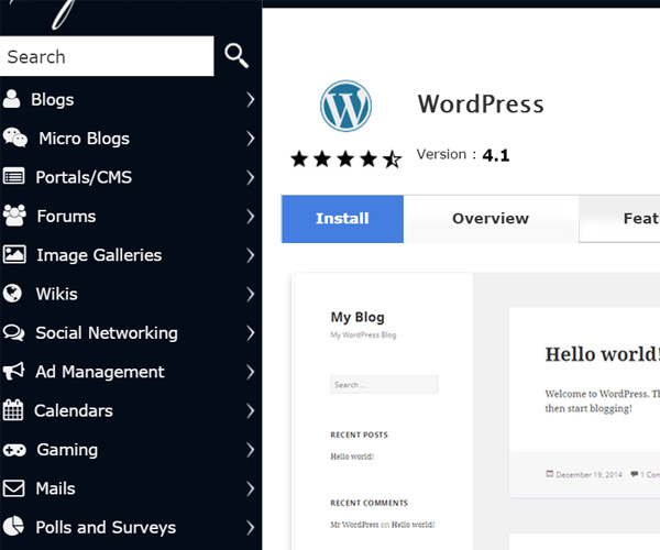 How to install wordpress using softaculous in cpanel for How to install wordpress template in cpanel
