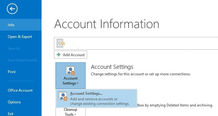 how to set up imap email in outlook 2013