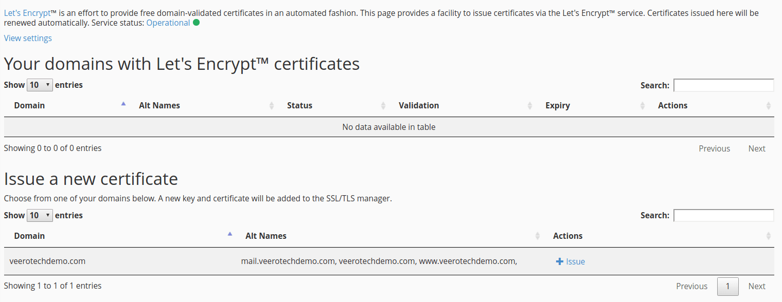 How to Install an SSL Certificate Using Let's Encrypt Inside