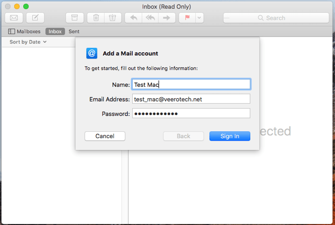 Mac mail setup image #2