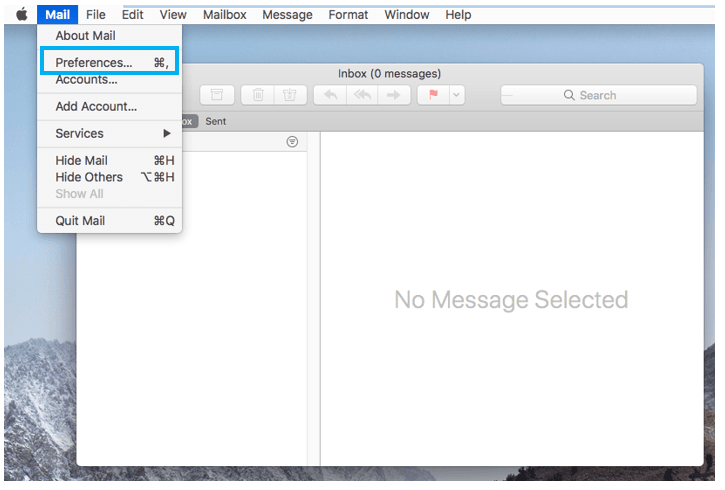 Mac mail setup image #5