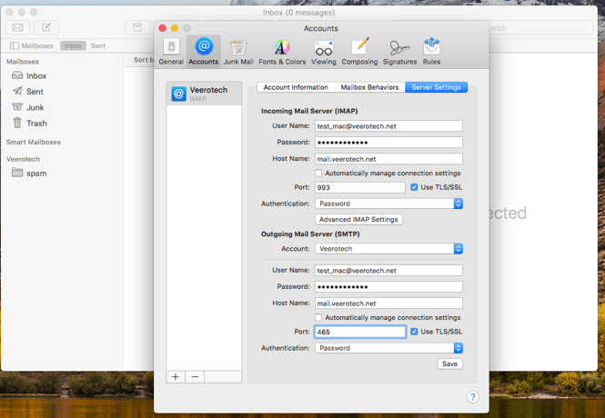 Mac mail setup image #6