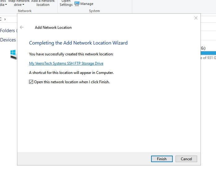 Create Mapped/Network Drive in Windows 10