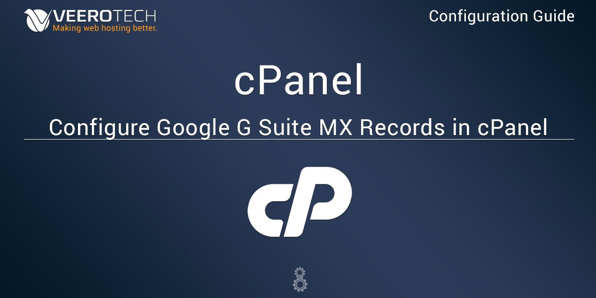 configure-google-g-suite-mx-records-in-cpanel