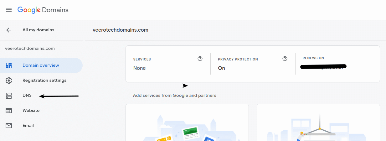 Google domains - My domain